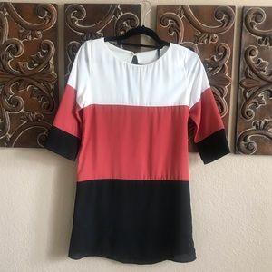 Lulu's Dresses - Color Block Dress